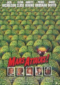 MARS ATTACKS(1997) JACK NICHOLSON ORIGINAL JAPANESE MOVIE  PROGRAM NICE!