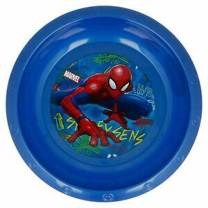 Favorite Kids Character Marvel Spiderman BOWL SET of 3-Licensed Branded Item