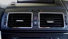 D BMW X3 E83 Chrom Rahmen für Lüftungsschacht Mitte - Edelstahl poliert