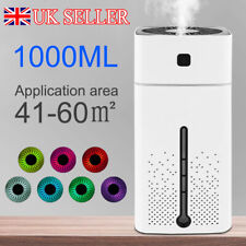 Humidifier Electric Air Diffuser Aroma Oil Night Light Home Relaxing Defuser UK