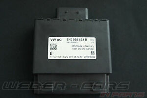 Audi A1 A3 A6 S6 A7 4G A3 A4 A6 Q5 Voltage Stabiliser 200W 8K0959663B For