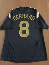 Gerrard 8. Liverpool Away football shirt 2009 - 2010. Size: L. Adidas jersey