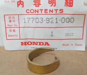 (4) Honda 17703-921-000 17703-921-010 BAND TUBE CLIP for MANY OUTBOARD ENGINES