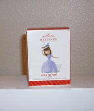Hallmark Ornament Disney Sofia the First 2014 New