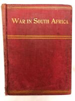1899 WAR IN SOUTH AFRICA AND THE DARK CONTINENT by William Harding, 546 pg Illus