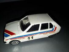 solido citroen VISA trophee rallye groupe B 1302 voiture miniature 1/43 diecast