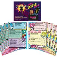 Selfie Challenge Scavenger Hunt Game Cards x 10 Hen Party Games Night Do Photo