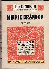 MINNIE BRANDON   LEON HENNIQUE    1933