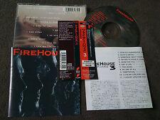 FIREHOUSE / 3 /JAPAN LTD CD OBI