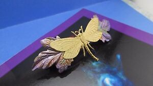 DRAGONFLY HAIR CLIPS WEDDING HAIR PIECES HAND PAINTED DRAGONFLY HAIR CLIP BARRET