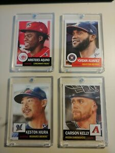 2019 & 2020 Topps Living Set Cards- Set Of 4