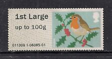 GB 2012 QE2 1st Large Post & Go to 100 gms Christmas Robin No Gum ( C673 )