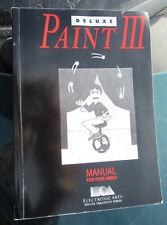 Vintage AMIGA Ordinateur Manuel Deluxe Paint III Electronic Arts Série