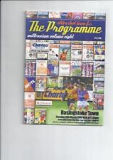 Non-League Home Teams A-B Final Football Programmes