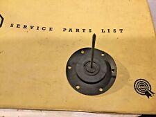 NOS SU Fuel Pump Diaphragm AUB6099.  SU Square Body Fuel Pump  —2/7—