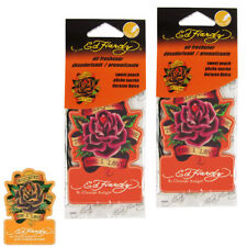 New 2 Ed Hardy by Christian Audigier Rose Flower Air Freshener Sweet Peach Scent