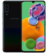"""Samsung Galaxy A90 SM-A908B Black 128GB 6GB RAM (FACTORY UNLOCKED) 6.7"""" 48MP"""