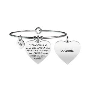 Kidult Bracciale Discover Your Life Collezione Love Amicizia Aristotele 731095