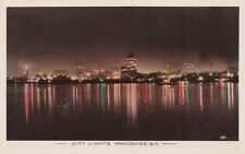 RP, VANCOUVER, British Columbia, Canada, 1920-1940s; City Lights