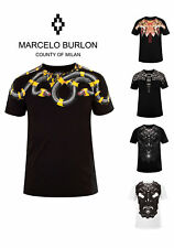 Marcelo Burlon ANIMALS Herren T-Shirt COUNTY OF MILAN