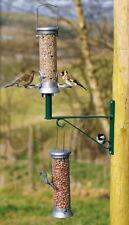 Alimentador del Pájaro Accesorios: Soporte Multi Propósito Para Pájaro alimentadores. Verde