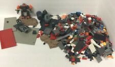 MEGA BLOKS some LEGO BRAND MIX LOT 3LBS 16OZ BRICKS BASES SOME HALO PIECES