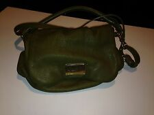 Marc Jacobs Leather Marc by Marc Jacobs Show off Clear Q Lil Ukita Green Leather