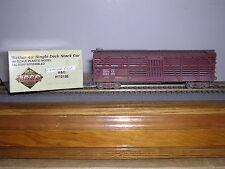 L.L./Proto 2000   Baltimore & Ohio Mather 40' D.D.Stock Car #112198 Weath. 1/87