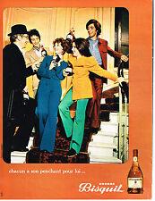 PUBLICITE 1972   BISQUIT  cognac