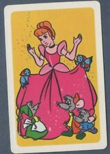 Swap Playing Cards 1 Japanese 1970's Nintendo Disney Cinderella  A129