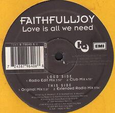 FAITHFULLJOY - Love Is All We Need - EMI