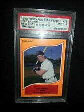 1990 Pro Cards A/AA Stars New Britain Red Sox #26 Jeff Bagwell RC PSA 9