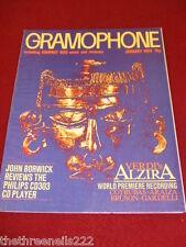 GRAMOPHONE -  PHILLIPS CD303 CD PLAYER - JAN 1984 # 728
