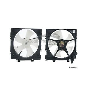 One New Performance Radiator A/C Condenser Fan Assembly 610680 73042AA001