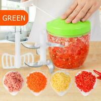 900ml Food Cutter Vegetable Shredder Chopper Slicer Meat Grinder Egg Whisk