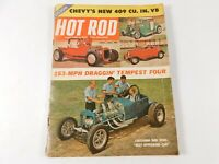 Vintage Original April 1961 Hot Rod Magazine Automotive Custom Car Mods