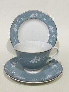 "Royal Doulton "" Reflection ""  Tea Cup, Saucer & Plate Trio"