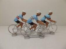Felice Gimondi cycling figurines set miniature Bianchi Campagnolo Faema