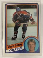 1984-85 Wayne Gretzky Topps Card #51 Edmonton Oilers Legend