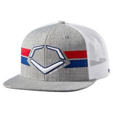 74d0f81978040 EvoShield Sentry Snapback Baseball softball Hat - Heather white