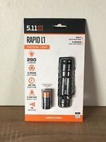 5.11 Tactical Rapid L1 Flashlight - Black - Battery Included - ##7AH049