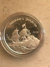 Dollaro Antigua e Barbuda 2020 Oncia Argento Veliero Pirata  oz. Buillon Silver
