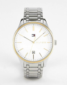 Tommy Hilfiger Mens Damon Stainless Steel Watch 1791491 RRP £150