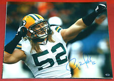 CLAY MATTHEWS GREEN BAY PACKERS AUTOGRAPHED 16X20 PHOTO AASH ARMS