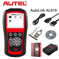 Autel AutoLink AL619 Engine ABS SRS Airbag OBD2 Code Reader Scanner Tool Genuine
