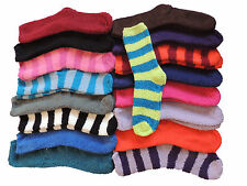 1-10 Kuschelsocken Damen Gr. 35-40 Kuschel Socken Warme Winter Herbst Haus Socks
