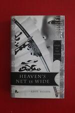 *SIGNED* HEAVEN'S NET IS WIDE by Lian Hearn - Tales of the Otori (HC/DJ, 2007)