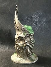 Single Pewter Wizard Candle Stick Preowned Magic Fantasy Merlin