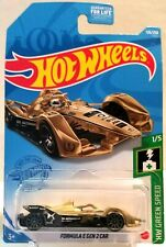 2021 Hot Wheels - FORMULA E GEN 2 SPARK SRT 05e - GOLD 126/250 - GREEN SPEED 1/5