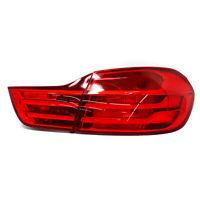 Rückleuchten Folien Set RED BMW 4er Aufkleber Folie Auto Rücklichter C043